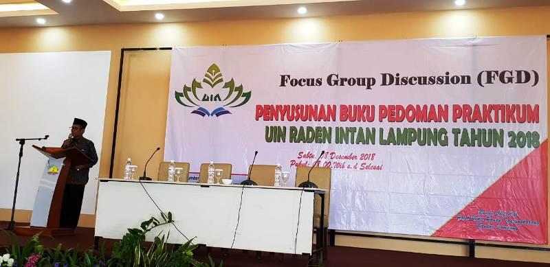 Rektor UIN Raden Intan Lampung, Prof Dr H Moh Mukri, M Ag.