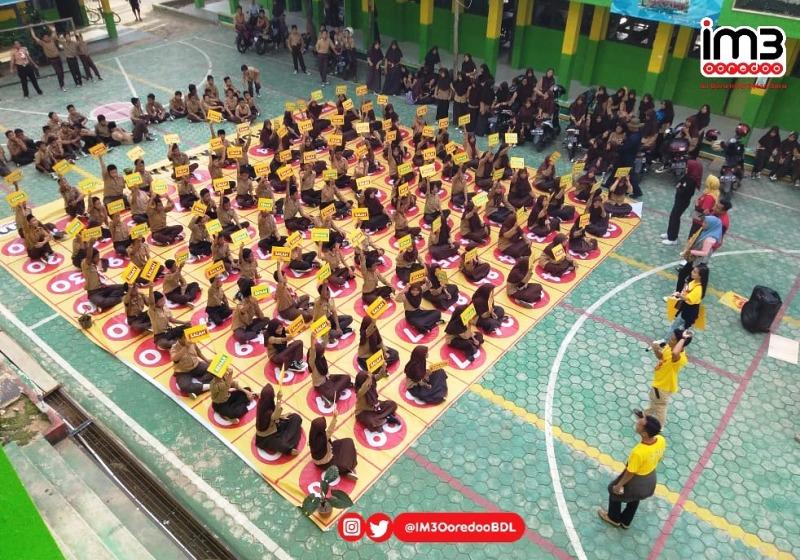 """Mencari Pelajar Nomor SATU di SMA Adiguna Bandar Lampung dengan """"New Challenge Ranking 1 Competition"""""""