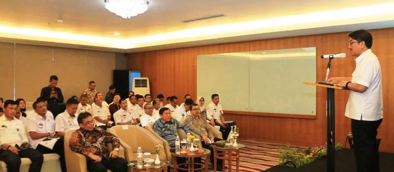 Pj. Sekretaris Daerah Provinsi Lampung, Hamartoni Ahadis.