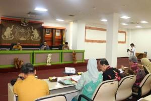 Forum Kemitraan dalam rangka Peningkatan Mutu Pelayanan Kesehatan Program JKN-KIS, Jumat (14/12/2018) di Ruang Sungkai Balai Keratun.