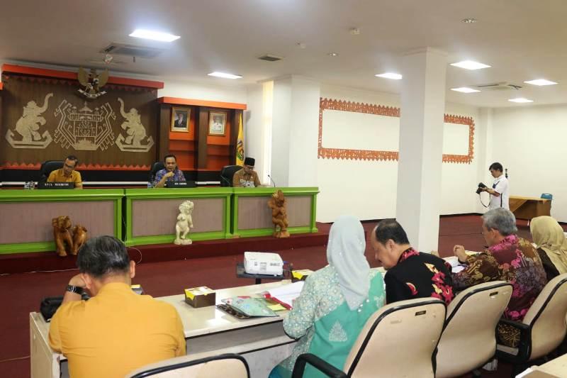 Sosialisasi Pembangunan Politeknik Industri Lampung dalam Rangka penyiapan SDM Industri Menyongsong Making Indonesia 4.0, di Hotel Novotel Lampung pada Jumat (14/12/2018).
