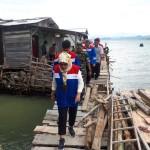 Pertamina Sumbagsel, Bantu Perbaikan Rumah yang Terkena Dampak Tsunami di Panjang, Lampung