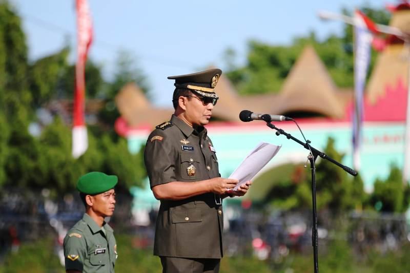 Kepala Kantor Wilayah Kementrian Pertahanan Provinsi Lampung Kolonel Kav. Robert Owen Tambunan.