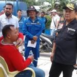 Tagana Lampung Bersama Pramuka Dirikan Dapur Umum Untuk Korban Banjir di Rangai