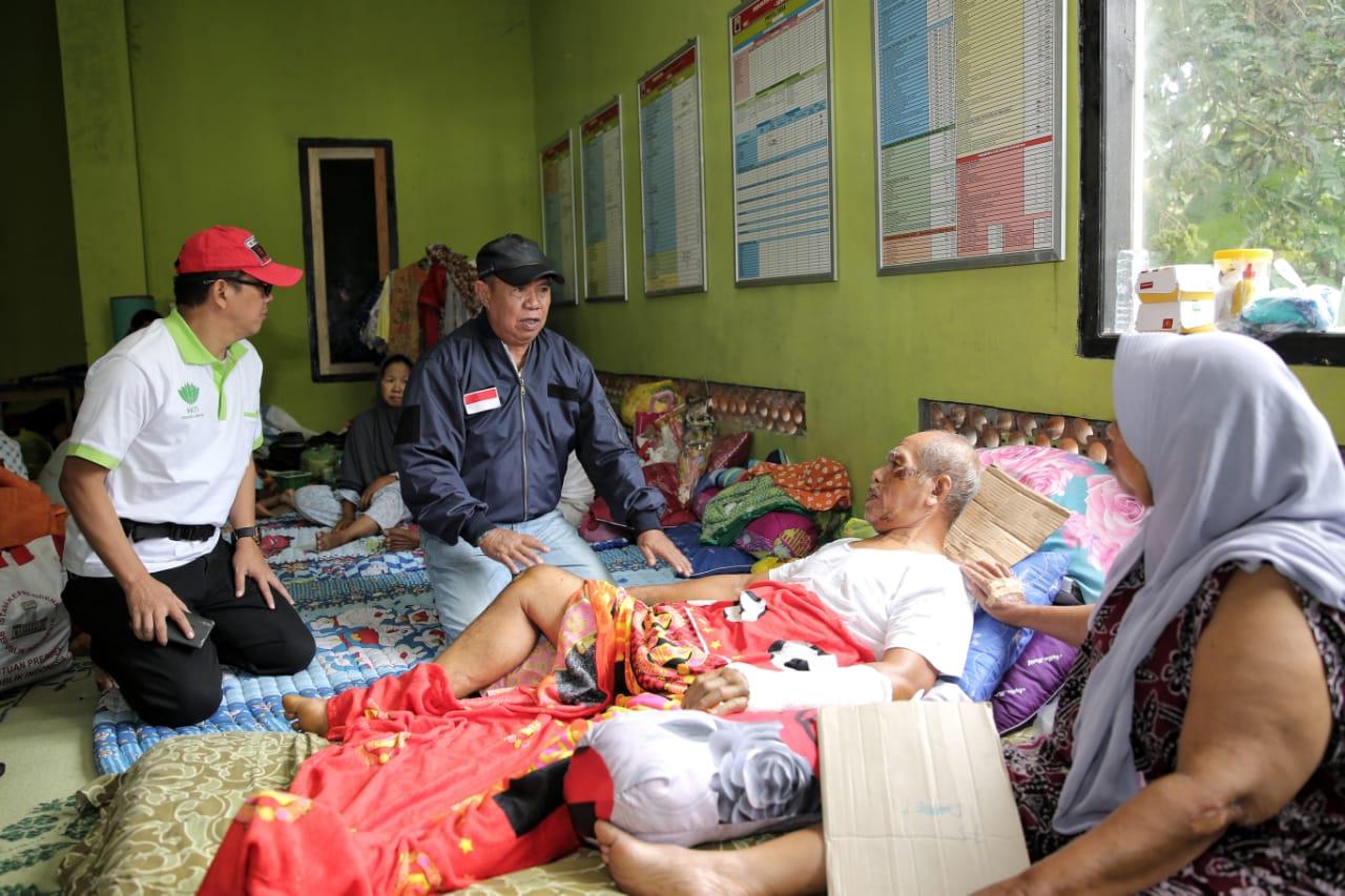 Wagub Bachtiar Tinjau Kesiapan Personel Penanggulangan Bencana Tsunami di Kalianda.