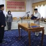Wagub Lampung Bachtiar Lantik 2 Pejabat Pimpinan Tinggi Pratama: Taufik Hidayat dan Fachrizal Darminto