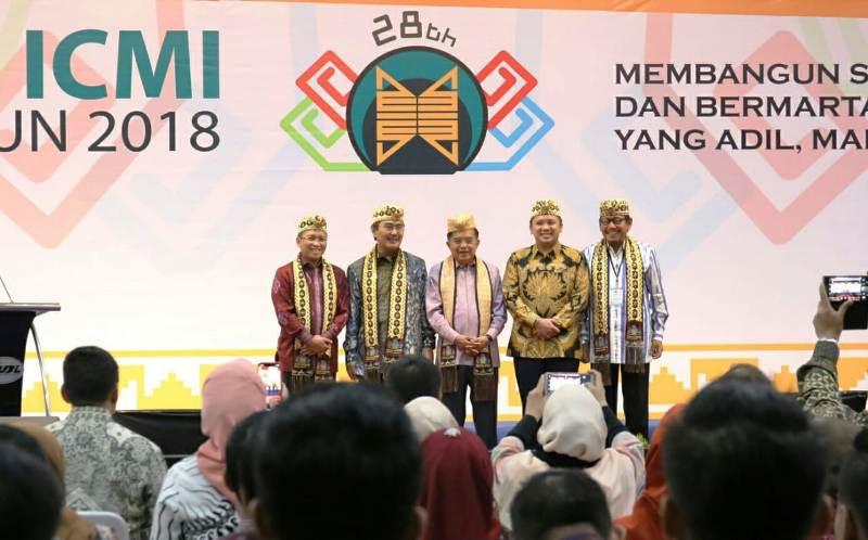 Wapres Jusuf Kalla Minta ICMI Perkuat Keilmuan dan Ekonomi Umat.