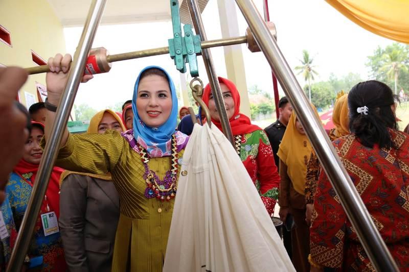 Ketua Tim Penggerak PKK Provinsi Lampung Yustin Ridho Ficardo.