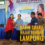 Brigita Manohara Berikan Pelatihan Public Speaking di SMA Xaverius Pahoman Bandar Lampung