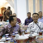 Perkuat Sinergitas Pembangunan Lampung Gubernur Ridho Bertemu Dankomar Mayjen TNI Suhartono