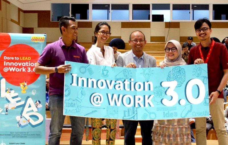 Indosat Ooredoo hari ini meluncurkan program Innovation@Work 3.0 bagi seluruh karyawannya, sebuah program kompetisi ide inovatif yang bertujuan untuk memacu karyawan memperkuat budaya inovasi di perusahaan.