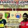 Charity Game antara tim sepakbola Pra PON Lampung versus Persija Jakarta.