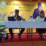 Paroki Ratu Damai Teluk Betung Gelar Kegiatan Belajar Bersama Tentang Pekan Suci