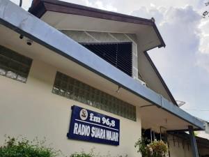 Gedung Radio Suara Wajar Bandar Lampung saat ini di Jalan Cendana No.26 Pahoman Bandar Lampung. (Foto: Robert)