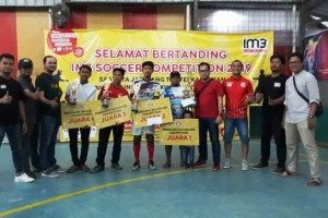 Guna membentuk pribadi pemuda dan pemudi gemar berolahraga Indosat Ooredoo menggelar IM3 Futsal Competition yang diikuti 83 club futsal di wilayah Kabupaten Pringsewu, Tanggamus dan Pesawaran.