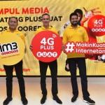 Indosat Ooredo 4G Plus Jangkau 80 Persen Populasi Indonesia