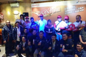 Rombongan Enduro touring hari ini telah mencapai Etape ke-4 Kota Bandar Lampung menuju Kota Bandung yang sebelumnya sudah melaksanakan Etape ke-3 Kota Padang menuju Kota Bengkulu.