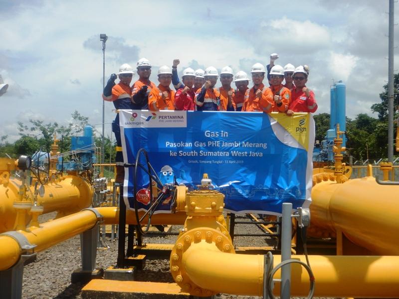 Pasokan hulu PT Perusahaan Gas Negara Tbk (PGN) bertambah secara volume seiring kerjasama pasokan dari Blok Jambi Merang yang dikelola oleh PT Pertamina Hulu Energi (PHE).