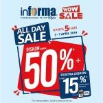 Informa Lampung Promo All Day Sale Hanya 5 Hari Saja