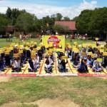 Merihanya New Challenge Ranking 1 Competition Indosat Ooredoo di SMAN 1 Tanjung Bintang