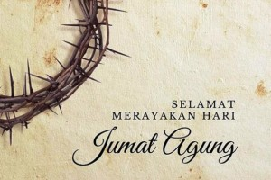 Ucapan Selamat Merayakan Hari Raya Jumat Agung Presiden Jokowi di akun istagramnya.