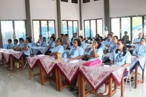 Rapat kerja Kepala Sekolah Yayasan Xaverius Tanjungkarang pada 13 Mei-16 Mei 2019 di Rumah Khalwat Mattow Way Hurik Tanjung Seneng, Bandar Lampung.