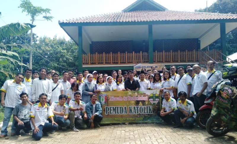 Ziarah dan Rekoleksi Pemuda Katolik Komcab Pringsewu, Minggu, 05 Mei 2019.