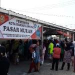 Gereja Katolik Ratu Damai Sediakan Lahan Parkirnya untuk Kegiatan Pasar Murah Pemkot Bandar Lampung