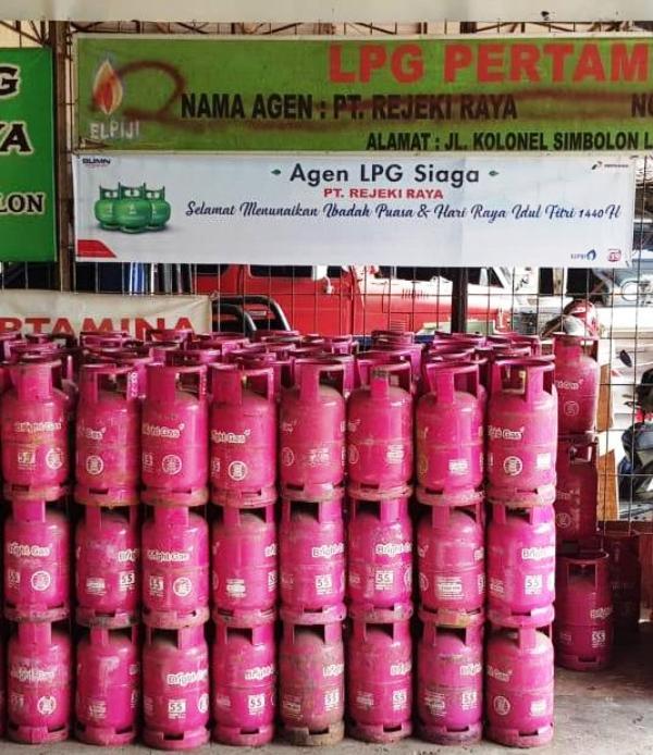Pertamina Marketing Operation Region (MOR) II Sumbagsel telah menyiapkan agen dan pangkalan siaga guna melayani kebutuhan masyarakat akan LPG.