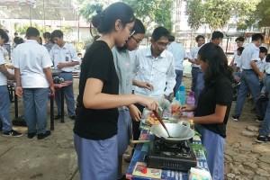 Selain perlombaan memasak ada juga diadakan lomba menggambar poster, dan lomba ekspo makanan atau jajanan tradisional.