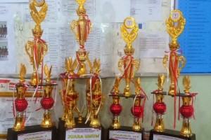 SMA Xaverius Bandarlampung raih juara 1 lomba band, juara 2 dan 3 lomba modern dance pada Festival Seni Universitas Teknokrat Indonesia.