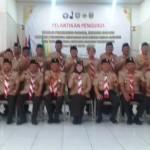 Ketua Kwarda Lampung Lantik Bupati Tanggamus Dewi Handajani Sebagai Ketua Mabicab