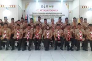 Dewi Handajani, Bupati Tanggamus dilantik sebagai Ketua Majelis Pembimbing Cabang (Mabicab) Gerakan Pramuka Tanggamus masa bakti 2019 - 2024 oleh Ketua Kwarda Lampung kak Idrus Effendi.