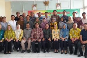 Peserta FGD yang membahas peran UKM berbasis digital dalam mensukseskan misi Gubernur Lampung, di di Ruang Rapat Dinas Koperasi, dan UKM Provinsi Lampung, Kamis, 16 Januari 2020.