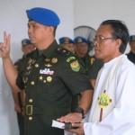 Mayor Cpm Hanri Wira Kusuma Jabat Dandenpom II/3 Lampung