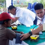 Warga Gedung Ratu Natar Nikmati Pengobatan Gratis Rail Clinic KAI Divre IV Tanjungkarang
