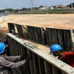 Anggaran Infrastruktur Baru Terserap Rp40 M