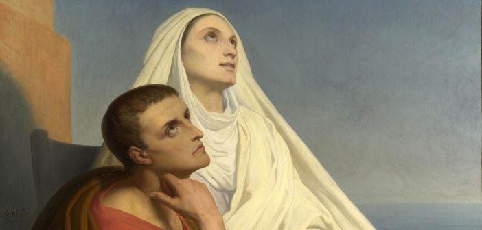 St Monika dan St Agustinus