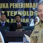 Sekda Provinsi Lampung Lantik Mahasiswa Baru ITERA TA 2015/2016