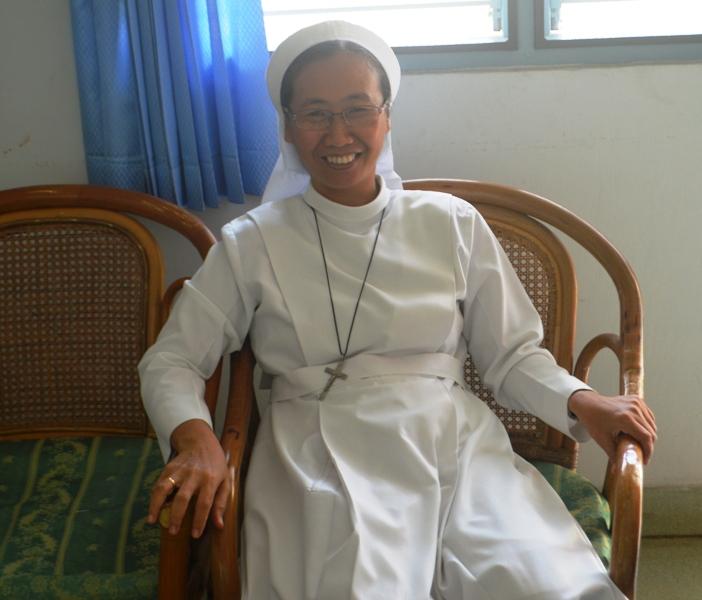 Pelayan Komunitas (Peko) Sr. M. Vincentia, FSGM di Susteran St. Fransiskus, Jl. Cendana No. 22 Pahoman, Bandar Lampung (22/09)