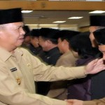 14 Pejabat Struktural Dilingkungan Pemerintah Provinsi Lampung Menduduki Jabatan Baru