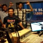 Direktur Utama Suara Surabaya Media Kunjungi Radio Suara Wajar