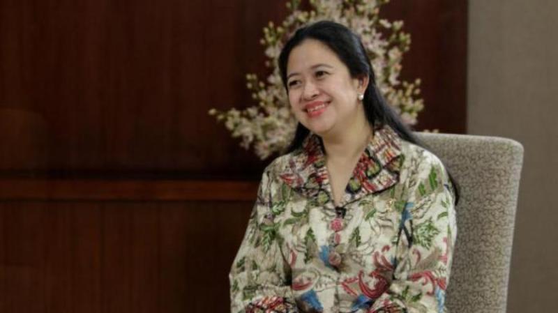 Menteri Koordinator Bidang Pembangunan Manusia dan Kebudayaan Puan Maharani.