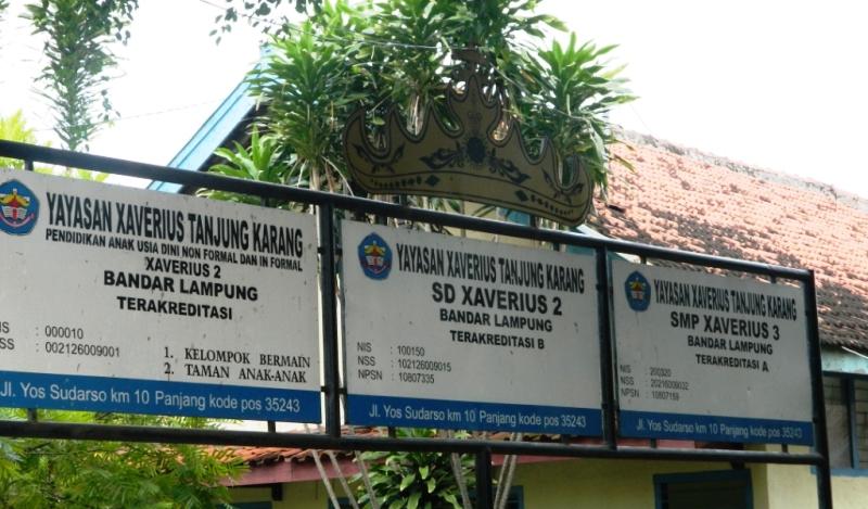 Unit Xaverius Panjang Bandar Lampung.