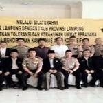 Polda Lampung Gelar Silahturahmai dengan Forum Kerukunan Umat Beragama