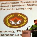 Pemprov Lampung Sosialisasikan Gerakan Nasional Revolusi Mental