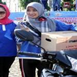 """Pemprov Lampung Sediakan Empat Unit Motor Sebagai """"Pemanis"""" Kegiatan Jalan Sehat Dalam Rangka HUT KORPRI Ke-44"""