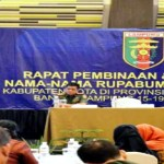 Pemprov Lampung Berencana Menamai Unsur Geografis atau Rupabumi