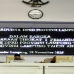 Ini dia tanggapan Fraksi-Fraksi DPRD Lampung terhadap Raperda APBD Provinsi Lampung Tahun 2016