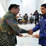 Gubernur Terima Laporan Hasil Evaluasi Akuntabilitas Kerja Pemerintah Provinsi Lampung dari KemenPAN-RB